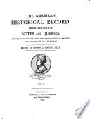 The American Historical Record Book PDF