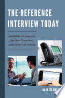 The Reference Interview Today Book PDF