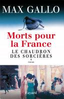 Morts pour la France, tome 1