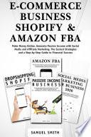 E Commerce Business  Shopify   Amazon FBA
