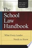 The School Law Handbook