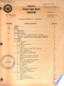 Defense Supply Agency Regulations DSAR.