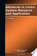 Advances In Limbic System Research And Application 2012 Edition Book PDF
