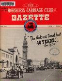 The Horseless Carriage Club Gazette