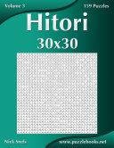 Hitori 30x30 - Volume 3 - 159 Logic Puzzles [Pdf/ePub] eBook