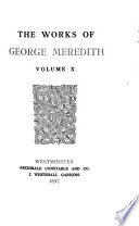 The Works of George Meredith  Rhoda Fleming