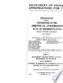 Department of Defense Appropriations for 1976