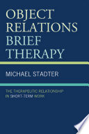 Object Relations Brief Therapy Book