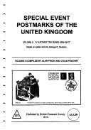 SPECIAL EVENT POSTMARKS OF THE UNITED KINGDOM VOLUME 5