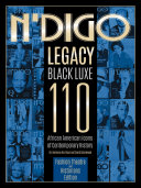 N'Digo Legacy Black Luxe 110: African American Icons of Contemporary History-Fashion, Theatre and Historians Edition