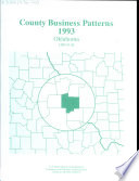 County Business Patterns  Oklahoma Book
