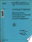 Contract Pricing
