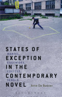 States of Exception in the Contemporary Novel
