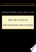 Best Practices in ERP Software Applications