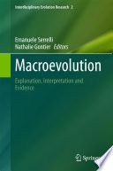 Macroevolution Book
