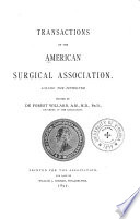 Transactions of the American Surgical Association