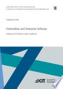 Externalities and Enterprise Software  Helping and Hindering Legal Compliance