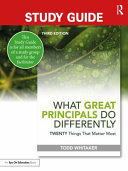 Study Guide  What Great Principals Do Differently Book