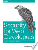 Security for Web Developers Book