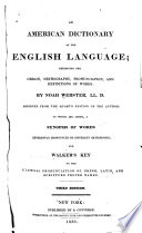American dictionary of the English language...