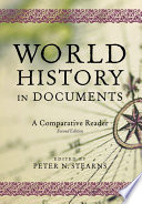 Cover of World History in Documents