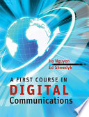 A First Course in Digital Communications Book
