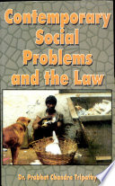 Contemporary Social Problems And The Law