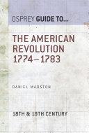 The American Revolution 1774–1783 Pdf/ePub eBook