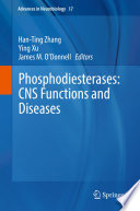 Phosphodiesterases  CNS Functions and Diseases Book