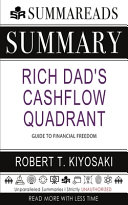 Summary of Rich Dad s Cashflow Quadrant