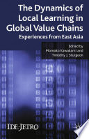 The Dynamics Of Local Learning In Global Value Chains Book PDF