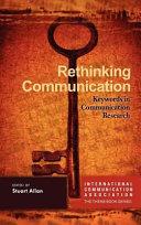 Rethinking Communication