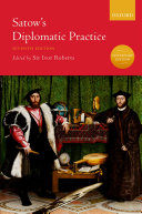 Satow's Diplomatic Practice Pdf/ePub eBook