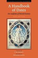 A Handbook of Dates