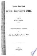 Snorre Sturlasons Harald Haarfagres saga   2ef7222d531b4