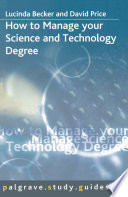 How to Manage your Science and Technology Degree