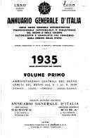 Annuario generale d'Italia guida generale del Regno