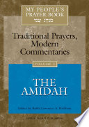 My People s Prayer Book  The Amidah