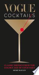 Vogue Cocktails Book PDF