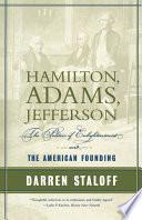 Hamilton  Adams  Jefferson