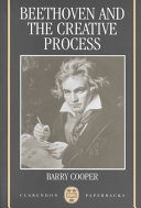 Beethoven and the Creative Process