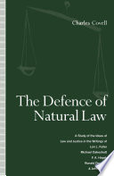 The Defence of Natural Law Book PDF
