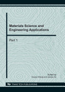 Materials Science and Engineering Applications