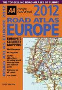 AA Road Atlas Europe 2012