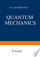 Quantum Mechanics Book