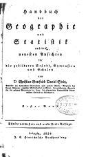 Handbuch der Geographie und Statistik