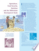 Agriculture  Food Security  Nutrition and the Millennium Development Goals Book