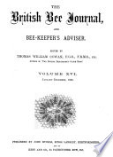 British Bee Journal   Bee keepers Adviser