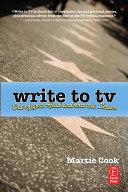 Write to TV