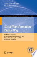 Social Transformation – Digital Way